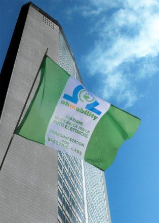 Ohm Mobility mobilità elettrica bandiera pirellone Milano